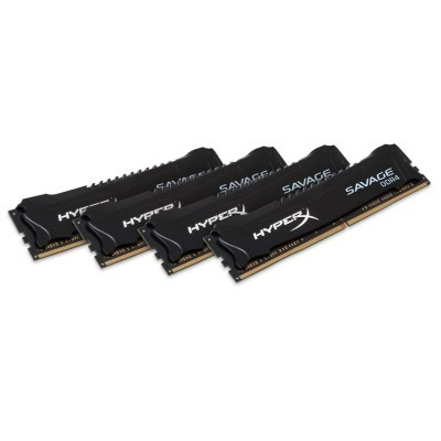 16GB DDR4 2133MHz CL13 XMP HyperX Savage Bl. 4x4GB