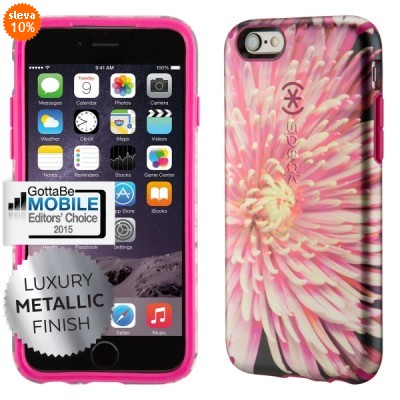 Kryt Speck CandyShell Inked pro Apple iPhone 6/6S, Hypnotic Bloom/Fuchsia Pink