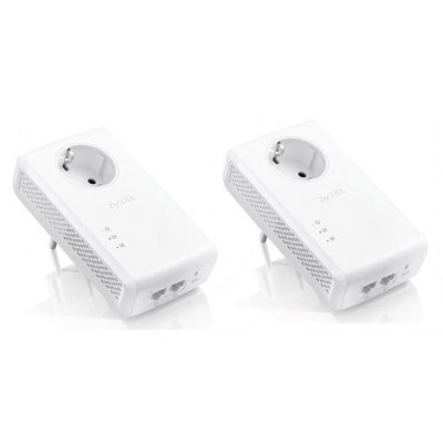 ZyXEL 1,8Gbps Powerline 2Gb LAN PLA5456 2pack
