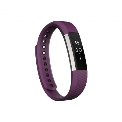 Fitness náramek Fitbit Alta, Small (S) - Plum / Stainless Steel