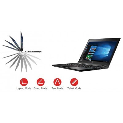 "ThinkPad Yoga 260 12.5"" FHD IPS Touch/i5-6300U/256GB SSD/8GB/HD/4G LTE/F/Win 10 Pro"