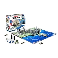 4D City Puzzle - Chicago