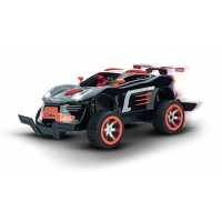 R/C auto Carrera Agent Black Pursuit (1:16) s kulometem