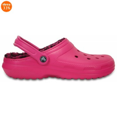 Crocs Classic Lined Pattern Clog - Candy Pink/Berry, M6/W8 (38-39)
