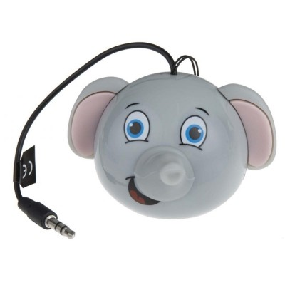 Přenosný reproduktor KitSound Mini Buddy Elephant
