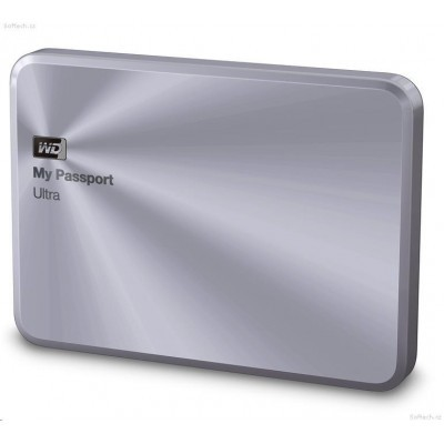 "Ext. HDD 2.5"" WD My Passport Ultra Metal 4TB stříb"