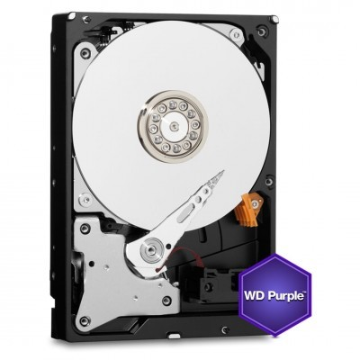 HDD 500GB WD05PURX Purple 64MB SATAIII/600 5400rpm