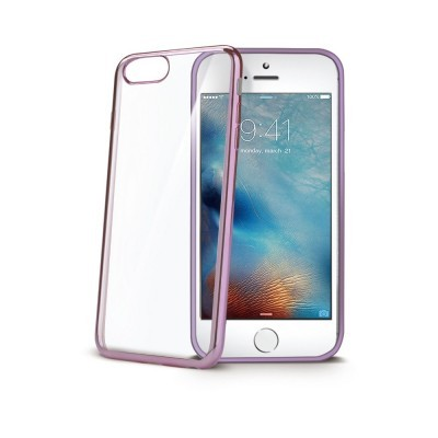 Obal Celly Laser pro Apple iPhone 7 Plus/8 Plus - Fuchsiový