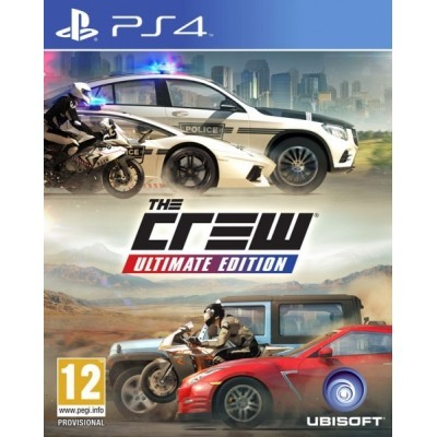 PS4 - The Crew Ultimate Edition
