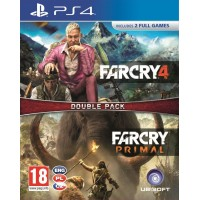 PS4 - Far Cry Primal + Far Cry 4 - duopack
