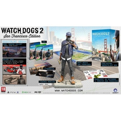 PS4 - Watch_Dogs 2 San Francisco Ed. - od 15.11.