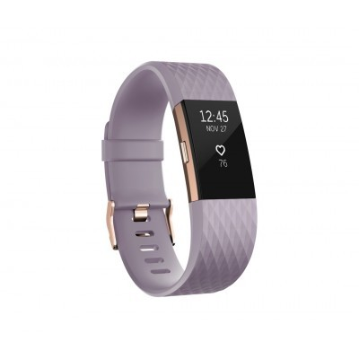 Fitbit Charge 2 Lavender Rose Gold - Large