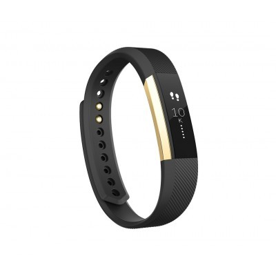 Fitness náramek Fitbit Alta, Large (L) - Black / Gold