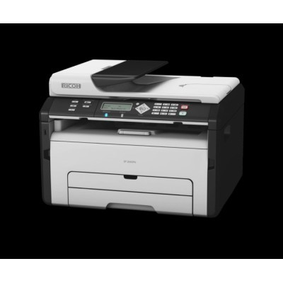 RICOH SP 204SN  - 22 PPM, MFP with Print, Scan, Copy & Network