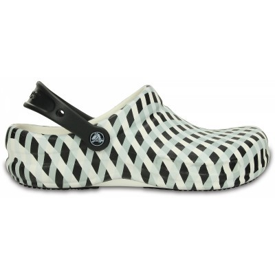 Crocs Work Bistro Gingham - White, M8/W10 (41-42)