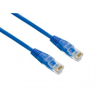 4World Patch kabel RJ45 Cat5 UTP 5.0m Blue