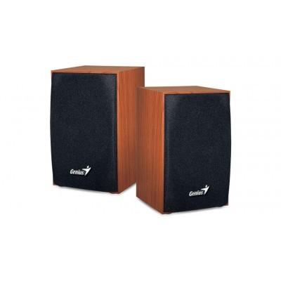 Speaker GENIUS SP-HF160 wooden SPK 2WX2 USB, wood