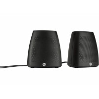 HP S3100 Stereo Speakers - Black