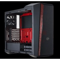 case CoolerMaster miditower MasterBox 5t, black,