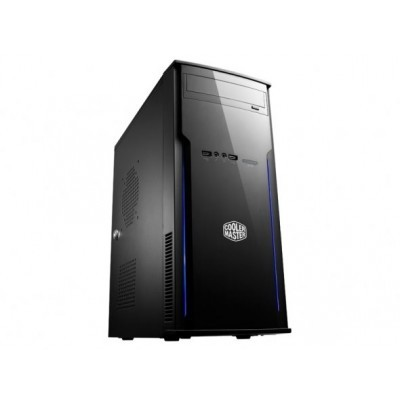 case Cooler Master minitower Elite 241, ATX, black, USB2.0, bez zdroje