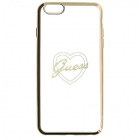 Zadní kryt Guess Signature Heart GUHCP6LTRHG pro iPhone 6/6S Plus