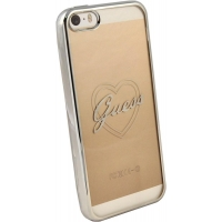 Zadní kryt Guess Signature Heart GUHCPSETRHS pro iPhone 5/5S/SE