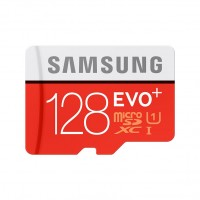 MicroSDXC Samsung EVO Plus 128GB + SD adaptér