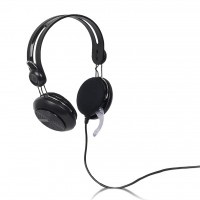 4World Headset 3.5mm 2.2m Black