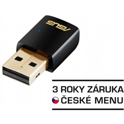 ASUS AC600 Dual-Band wifi client USB-AC51