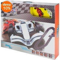 Autodráha BUDDY TOYS Oval Race BST 1301