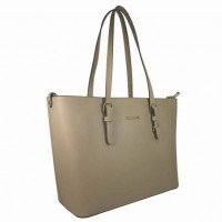 Flora&co. kabelka F9126 stylu shopper, taupe
