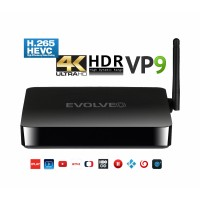 EVOLVEO Android Box H4, Quad Core multimediální centrum