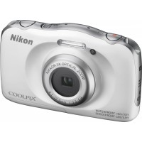 Nikon Coolpix W100 bílý, 13,2MPx,3xOZ,FHD Video