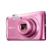 Nikon Coolpix A300 růžový,20,1M, 8xOZ, HD Video