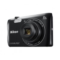 Nikon Coolpix A300 černý,20,1M, 8xOZ, HD Video