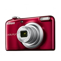 Nikon Coolpix A10 červený, 16,1M, 5xOZ, HD Video