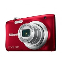 Nikon Coolpix A100 červený, 20,1M, 5xOZ, HD Video