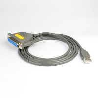 AXAGON ADP-1P25, USB2.0 - paralelní DB25F printer adapter, 1.5m