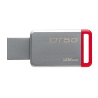Trhák Kingston DT50 USB 3.1, 32GB - červený