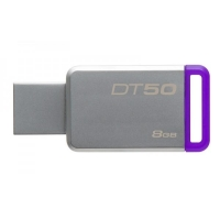 Kingston DT50 USB 3.1, 8GB - fialový