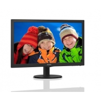 "24"" LED Philips 243V5QSBA-FHD,MVA,DVI"