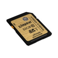 32GB SDHC Ultimate UHS-I Kingston class 10