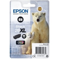 Epson Singlepack Photo Black 26XL Claria Prem Ink - Originál