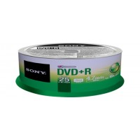Média DVD+R SONY DPR-47SP,25ks pack, Spindl