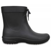 Crocs Freesail Shorty Rain Boots - Black, W10 (41-42)