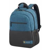 "American Tourister CITY DRIFT LAPT.BACKP.13.3""-14.1"" BLACK/BLUE"