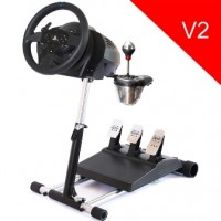 Wheel Stand Pro DELUXE V2, stojan na volant a pedály pro Thrustmaster T300RS, TX, TMX, T150 a T500