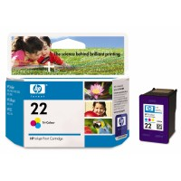 HP Ink Color č.22 pro DeskJet3940, 138 str. (C9352AE)