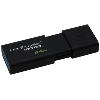 128GB Kingston USB 3.0 DataTraveler 100 G3 (100MB/s čtení)