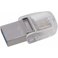 32GB Kingston DT microDuo 3C, USB 3.0/3.1 + Type-C